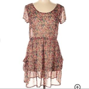 Band of gypsies Lottie & Holly floral dress